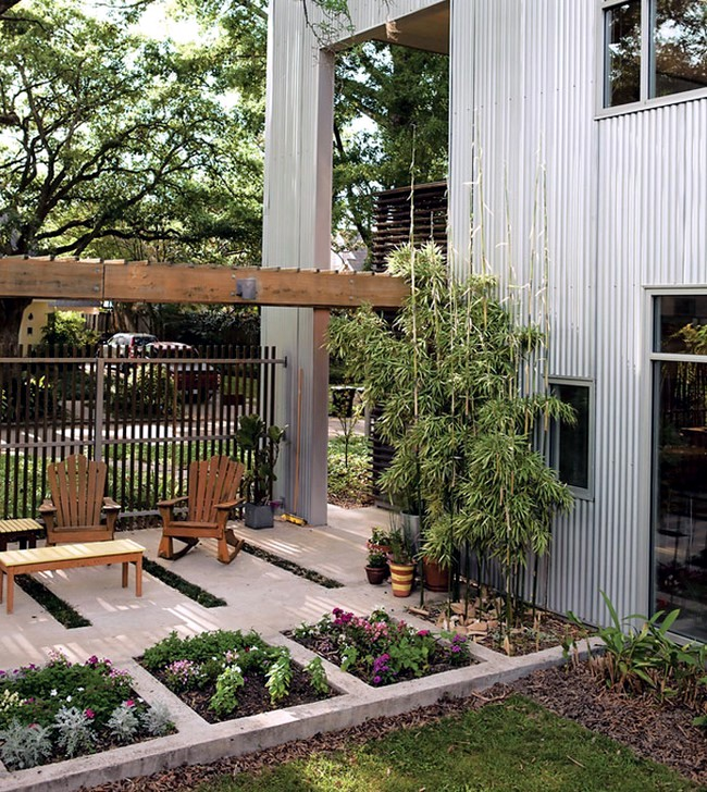 Rebuild The Garden Courtyard Itself   17 Useful Garden Design Ideas