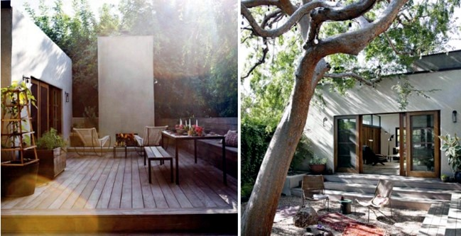 Rebuild the garden courtyard itself - 17 useful garden design ideas