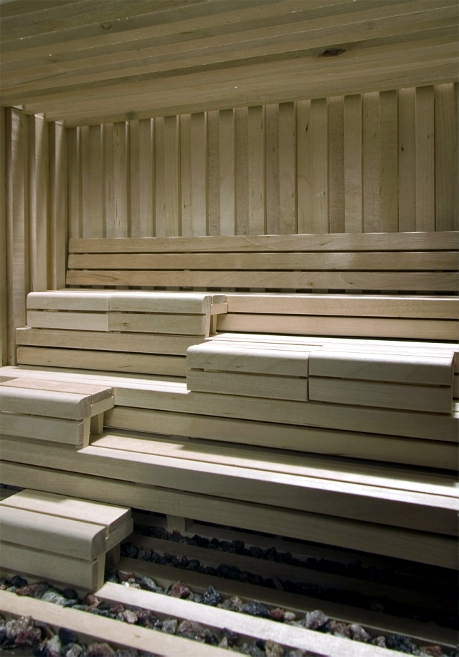 Relax in the Finnish log cabin sauna Studio Markunpoika