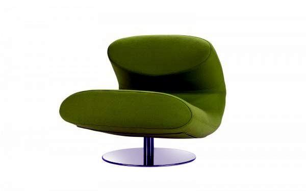 Rio Lounge Chair Design by Softline combines function and aesthetics