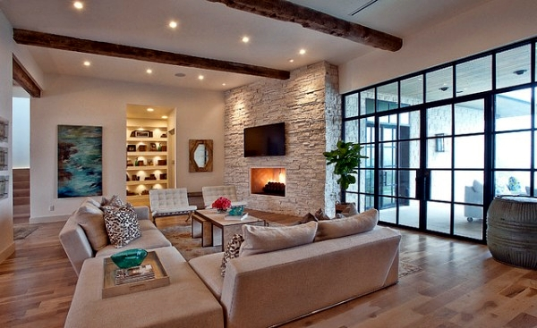 Nice Country Style Living Room Ideas Interior