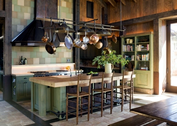 Rustic kitchen offers a stylish ambience - 20 design ideas