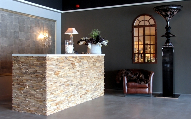 Rustic wall cladding wood - panels of Wonderwall Studios