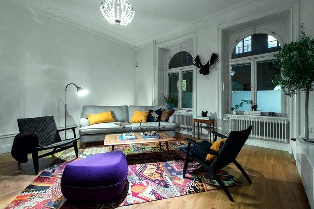 Deco Scandinavian apartment