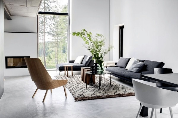 Scandinavian Design in the space concept of \