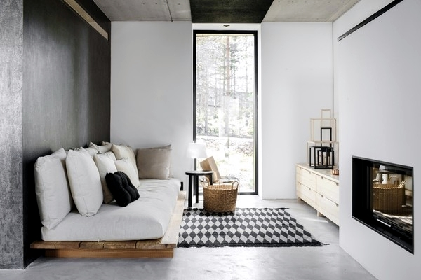 "Scandinavian Design in the space concept of ""Maja"" Decoration of Flat"