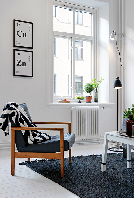 how to wake up a Scandinavian deco