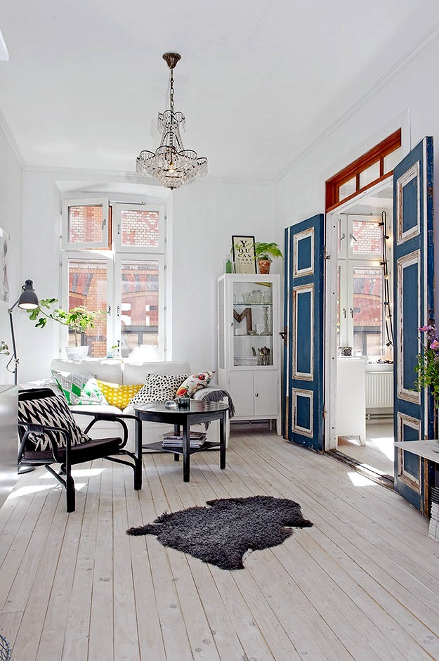 Scandinavian interior decoration