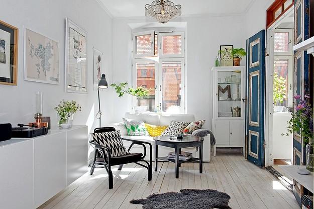 Scandinavian interior Photo