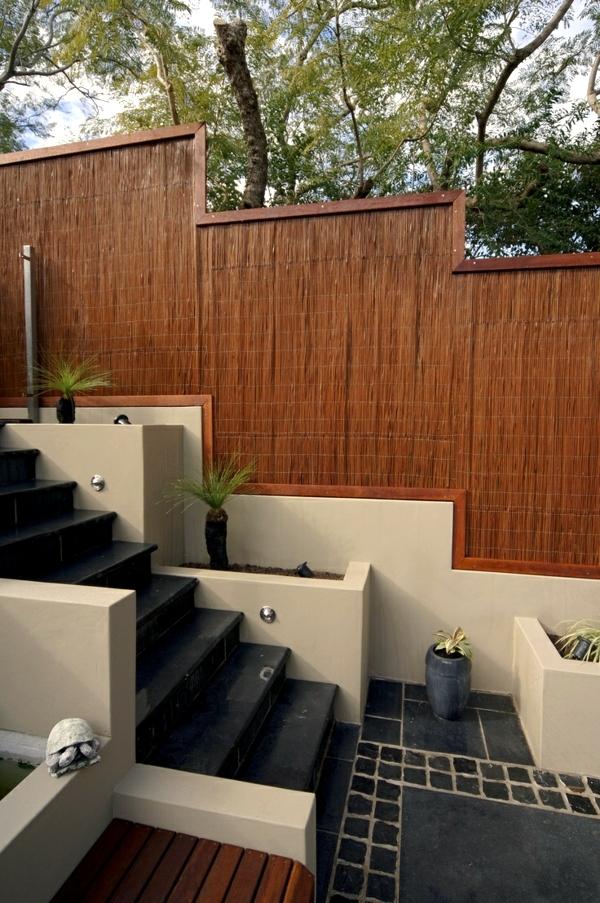 Flush Plastering Compound Wall Design Fence Wall Design Compound Wall