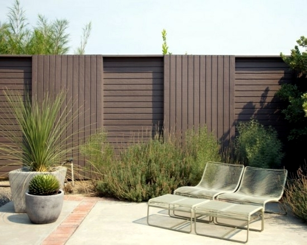 screening fence or garden wall 102 ideas for garden design - Garden Wall