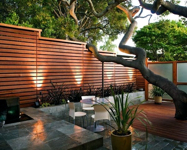 Superior Screening Fence Or Garden Wall   102 Ideas For Garden Design