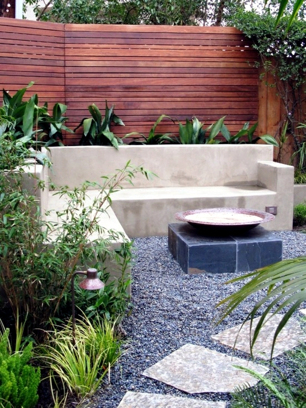 Attirant Screening Fence Or Garden Wall   102 Ideas For Garden Design