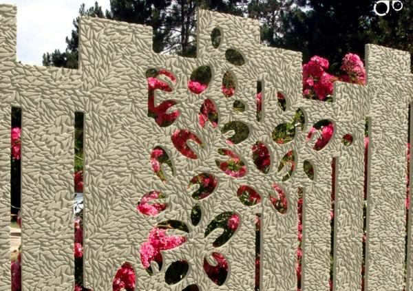 Cerca de triagem ou parede de jardim - 102 Ideas for Garden Design