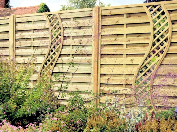 Screening fence or garden wall – 102 Ideas for Garden Design ...