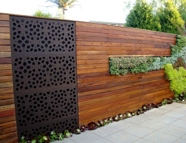 Garden Design Garden Design With Screening Fence Or Garden Wall U - Backyard screening ideas