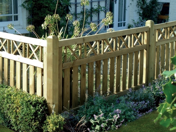 Screening Fence Or Garden Wall – 102 Ideas For Garden Design
