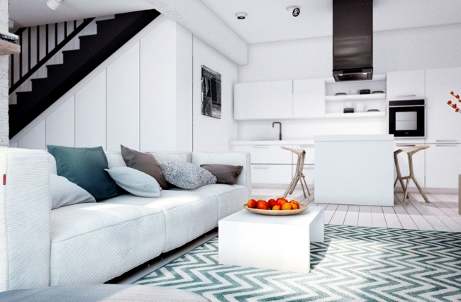 Setting bachelor apartment - stylish interiors for connoisseurs