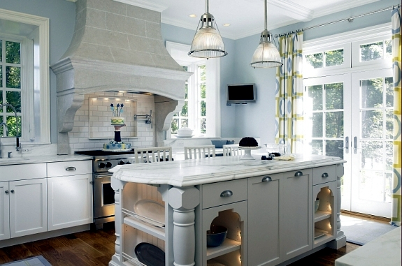 Setting up classic white kitchen – 15 refined kitchen designs ...