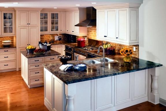 Setting up classic white kitchen - 15 refined kitchen designs