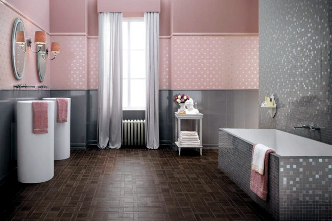 Shiny Bathroom Tile By Atlas Concorde Italian Elegance In The Interior Design Ideas