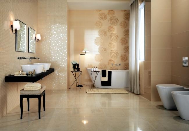 Shiny Bathroom Tile By Atlas Concorde Italian Elegance