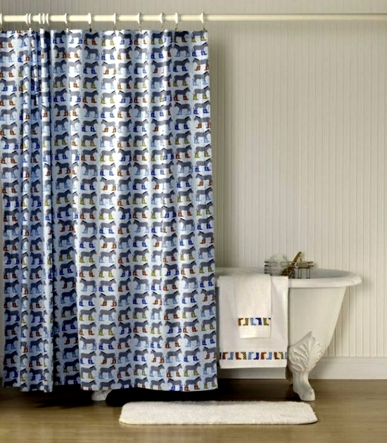 Shower Curtain And Decorate It Nicely