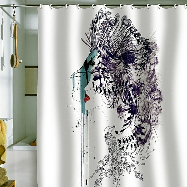 Shower Curtains Ideas For Designs The Modern Bathroom Interior