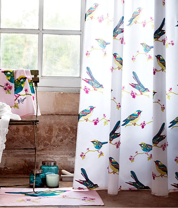 Shower Curtains With Various Designs And Creative Dekomotiven. Modern  Bathroom Part 89