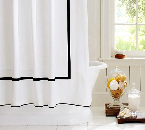 Shower curtains ideas for designs for the modern bathroom interior