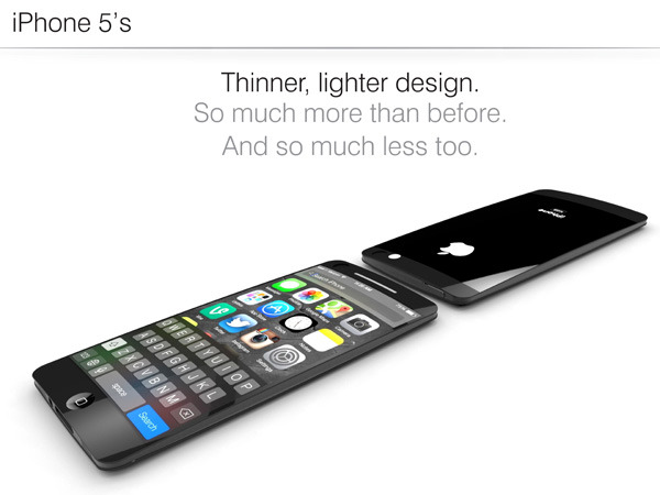 Simply iPhone 5S - combination of design, functionality and ergonomics