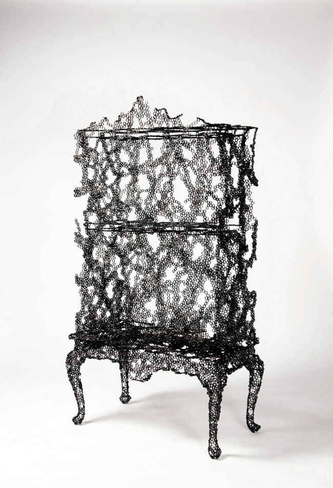 "Skulpturartge furniture series ""Engineering Temporality"" studio Markunpoika"