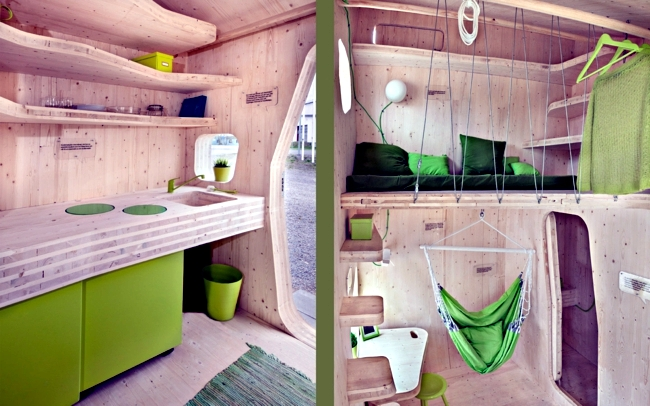Small apartment for students - Designed by architect Tengboom