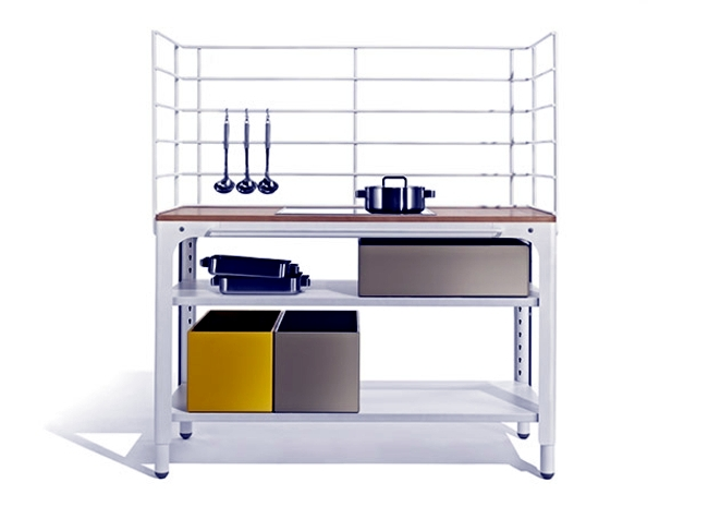 Small kitchen - modular design saves space