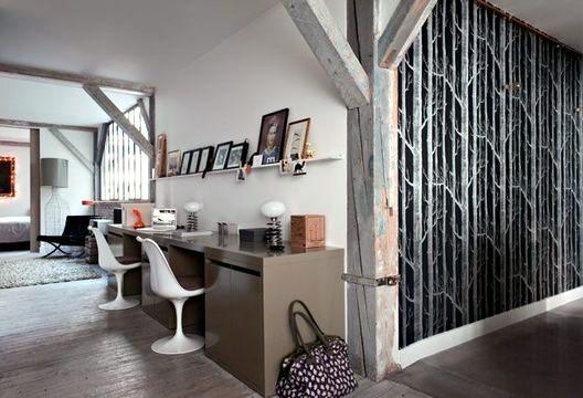 Small Parisian loft