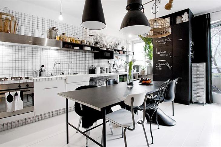 Swedish vintage deco room