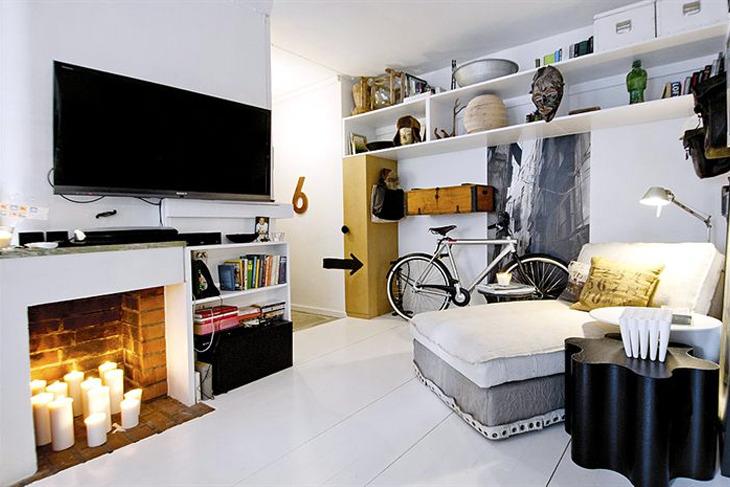 Small Swedish apartment