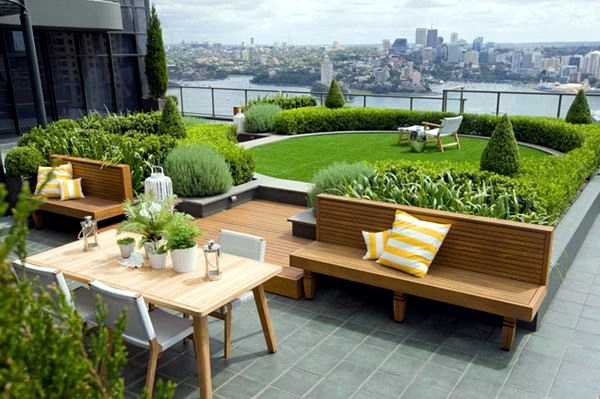 Small Urban Garden Design   Garden Design Ideas For Modern