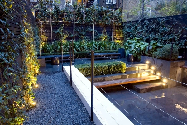 Awesome Small Urban Garden Design   Garden Design Ideas For Modern
