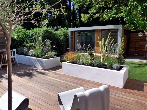 Small urban garden design - garden design ideas for modern