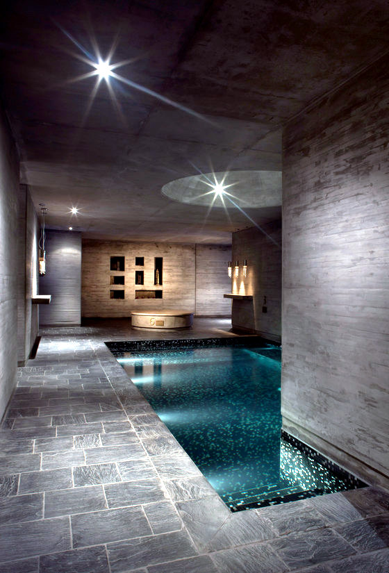 Spa and wellness centers as a stage for creative architectural designs