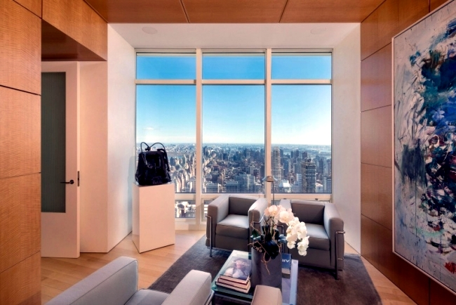 Spectacular duplex in New York - Living in skyscrapers