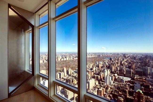 Spectacular duplex in New York - Living in skyscrapers