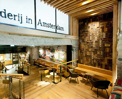 Starbucks The Bank in Amsterdam