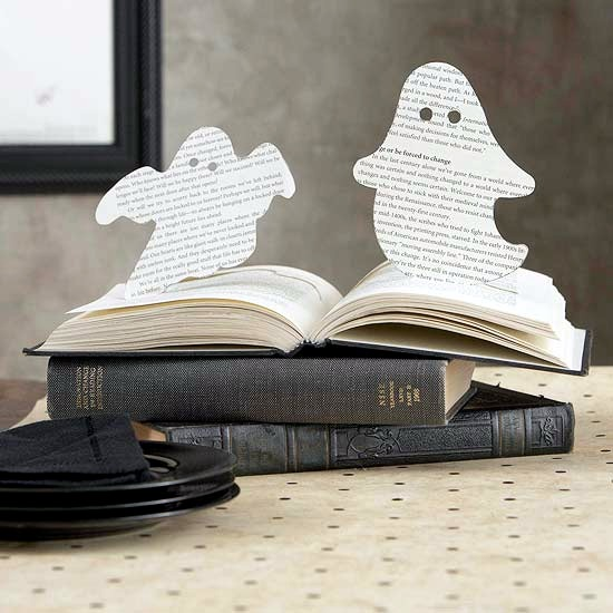 Striking finished Halloween decoration for the table in minutes