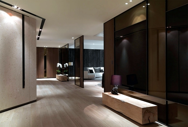Stylish luxury apartment with loft character of KCD Design Studio