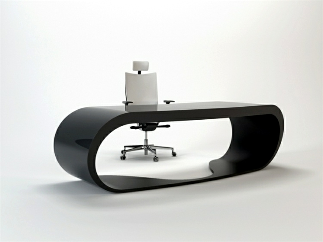 Punch Interior Design Furniture Options ~ Stylish office table provides practical options for