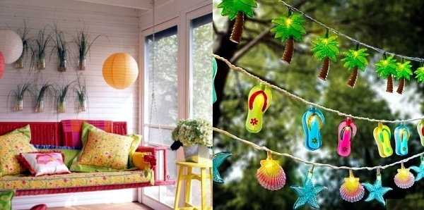summer decoration for home and garden that exudes a