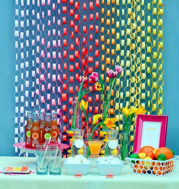 Summer Decorating Ideas summer decoration ideas to make your own for your garden party