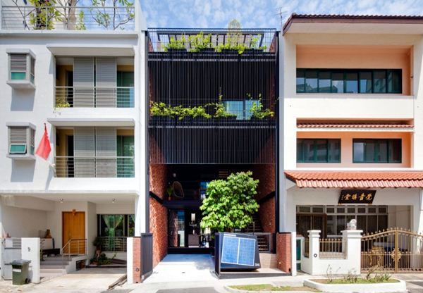 Sustainable house in Singapore